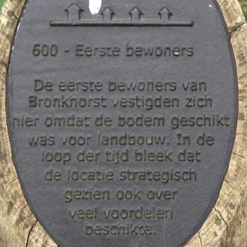 600 - Eerste bewoners