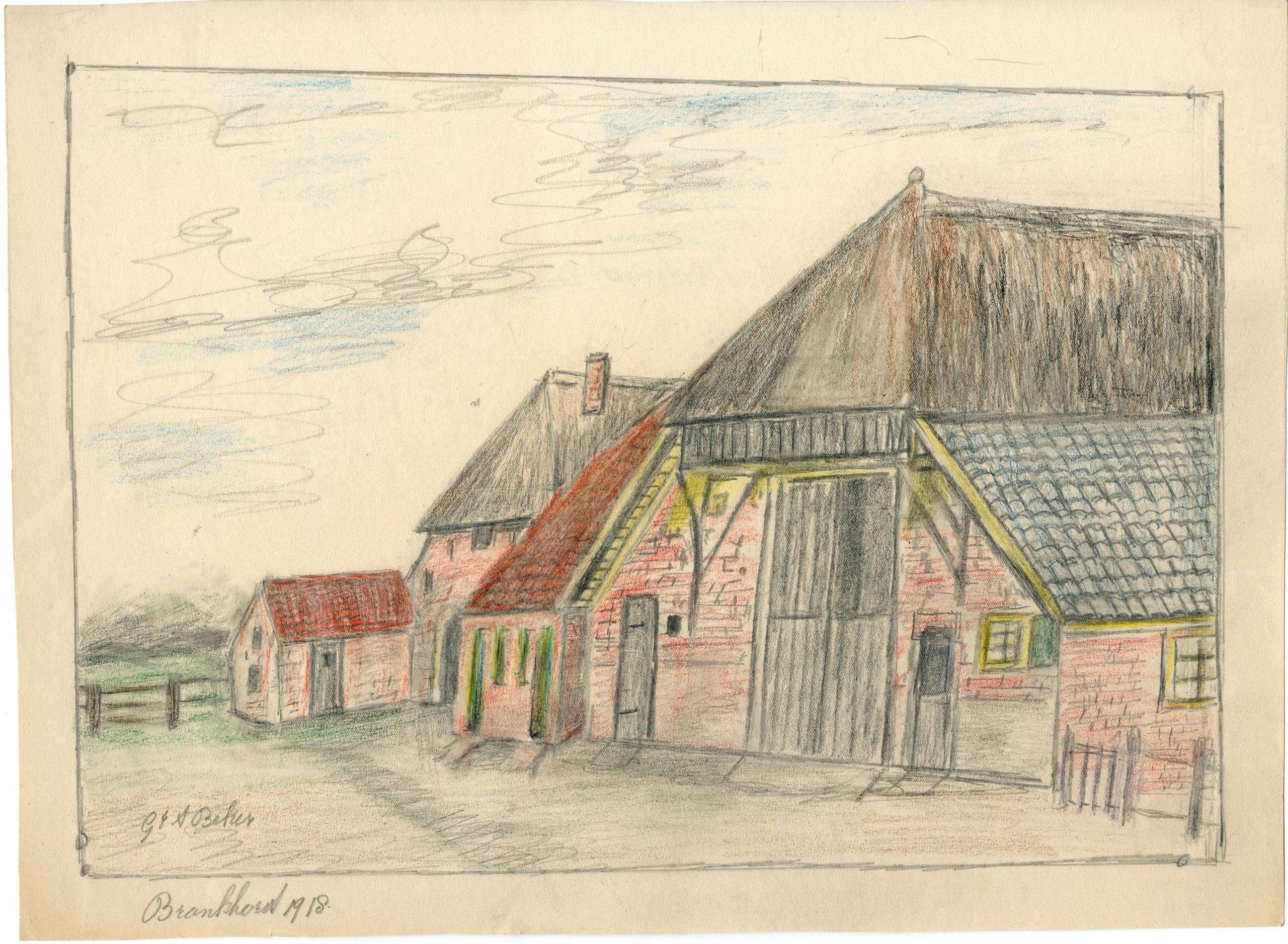 Bronkhorst Boterstraat 6 en 8 De Krijgerij Dubbel woonhuis