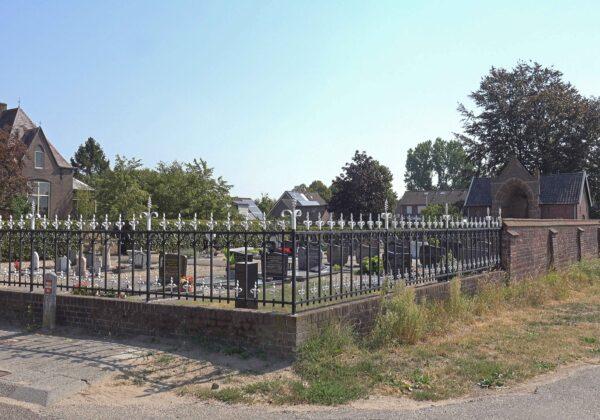Olburgen Olburgseweg Devotiekapel en Muur Begraafplaats