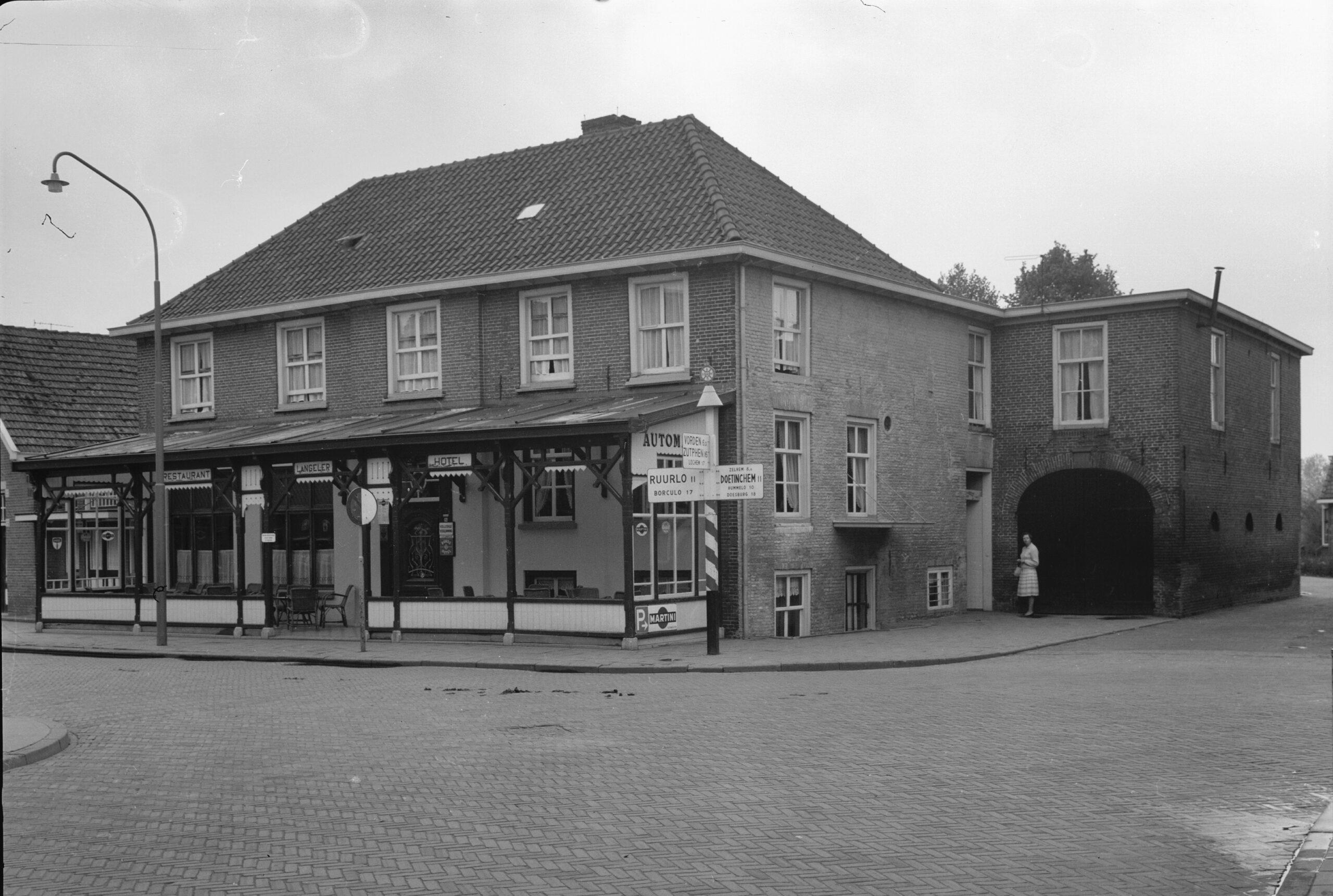 Hengelo Spalstraat 5 voormalig Hotel Langeler