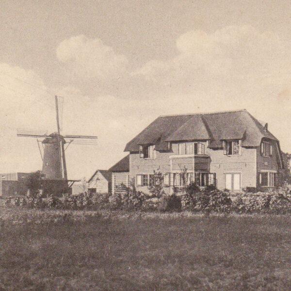 Hummelo Keppelseweg Oude villa Het Zand en molen Maandag