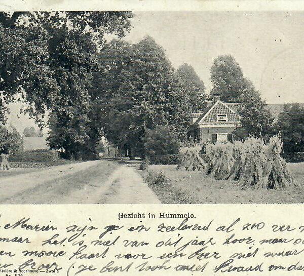 Hummelo Dorpsstraat Boerderij Kasteelzicht