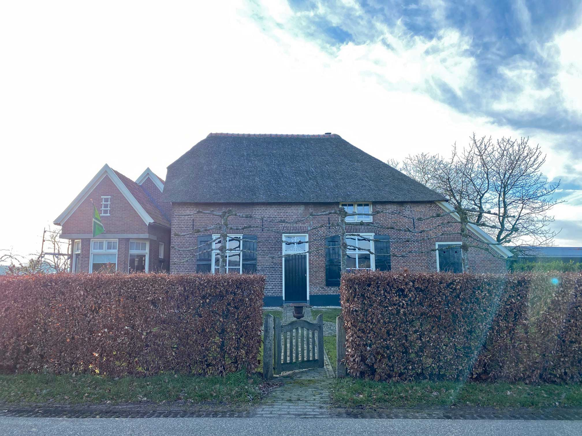Wichmond Lankhorsterstraat 10 Boerderij voormalig slagerij