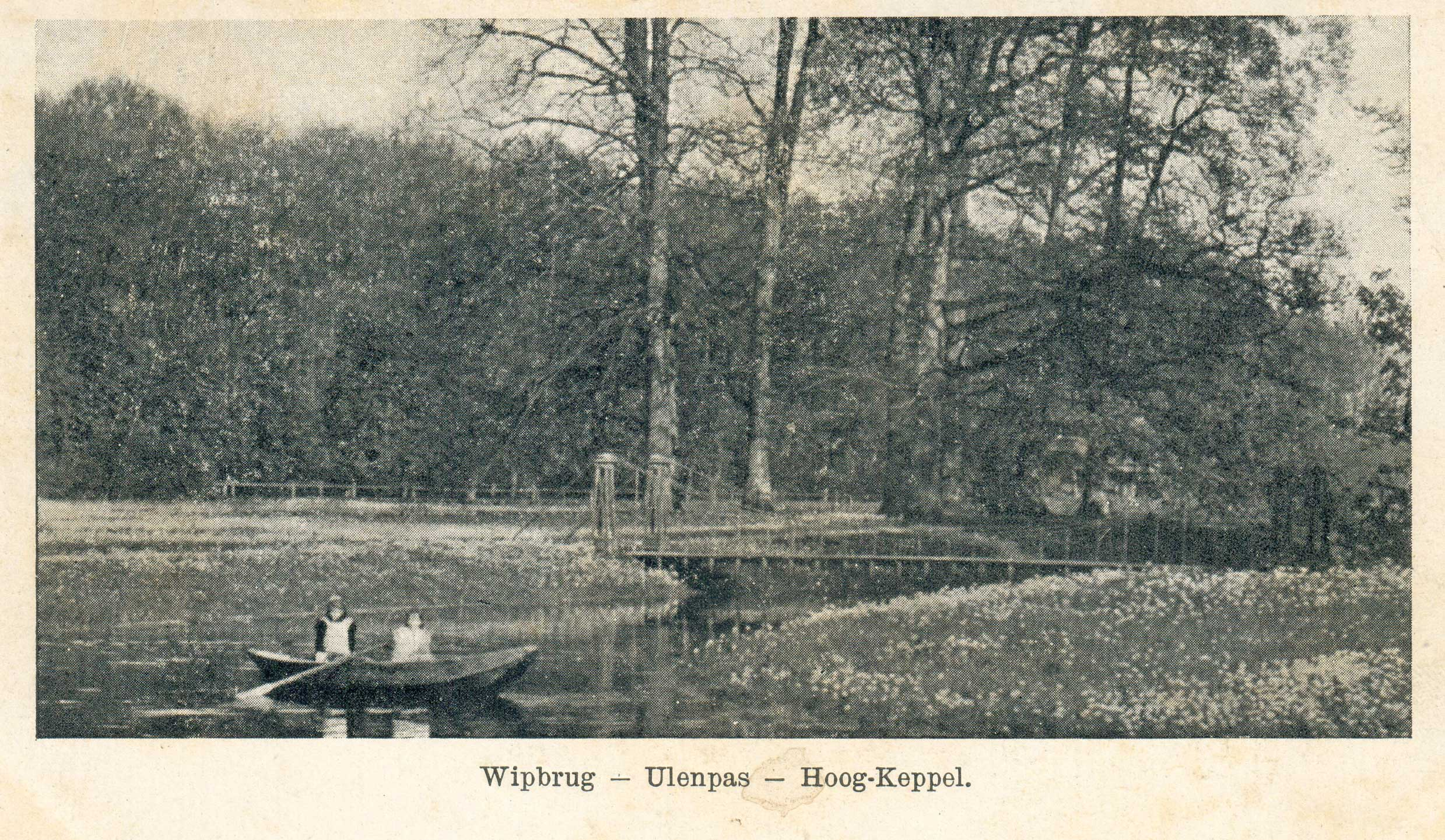 Hoog-Keppel Dubbeltjesweg 20 Hangbrug bij Ulenpas