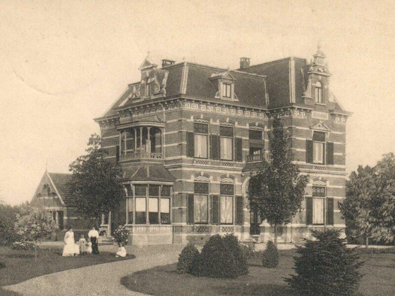 Hummelo Sliekstraat 1 Villa Johanna circa 1905