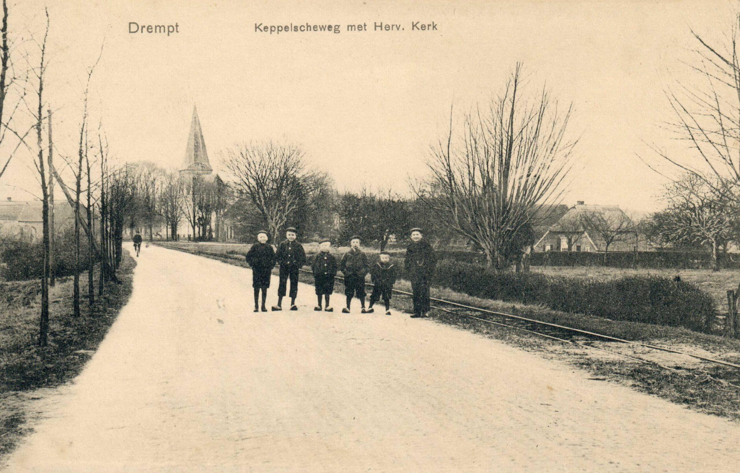 Drempt Keppelscheweg met Herv. Kerk