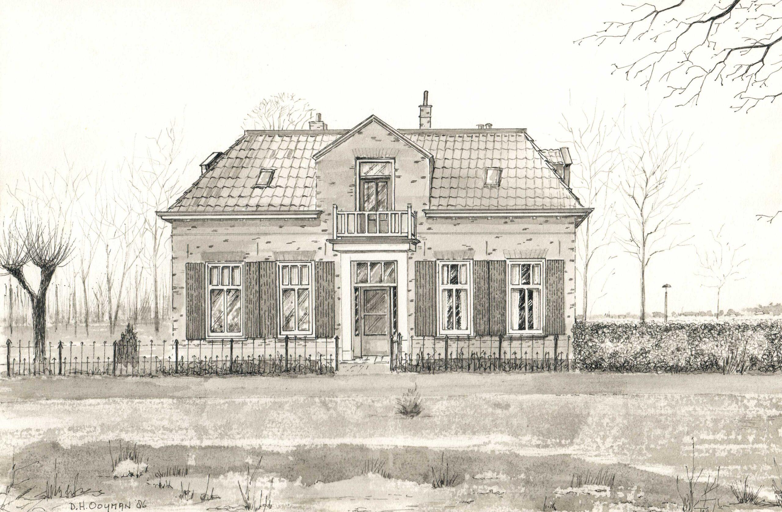 Drempt Kerkstraat 3 Pastorie