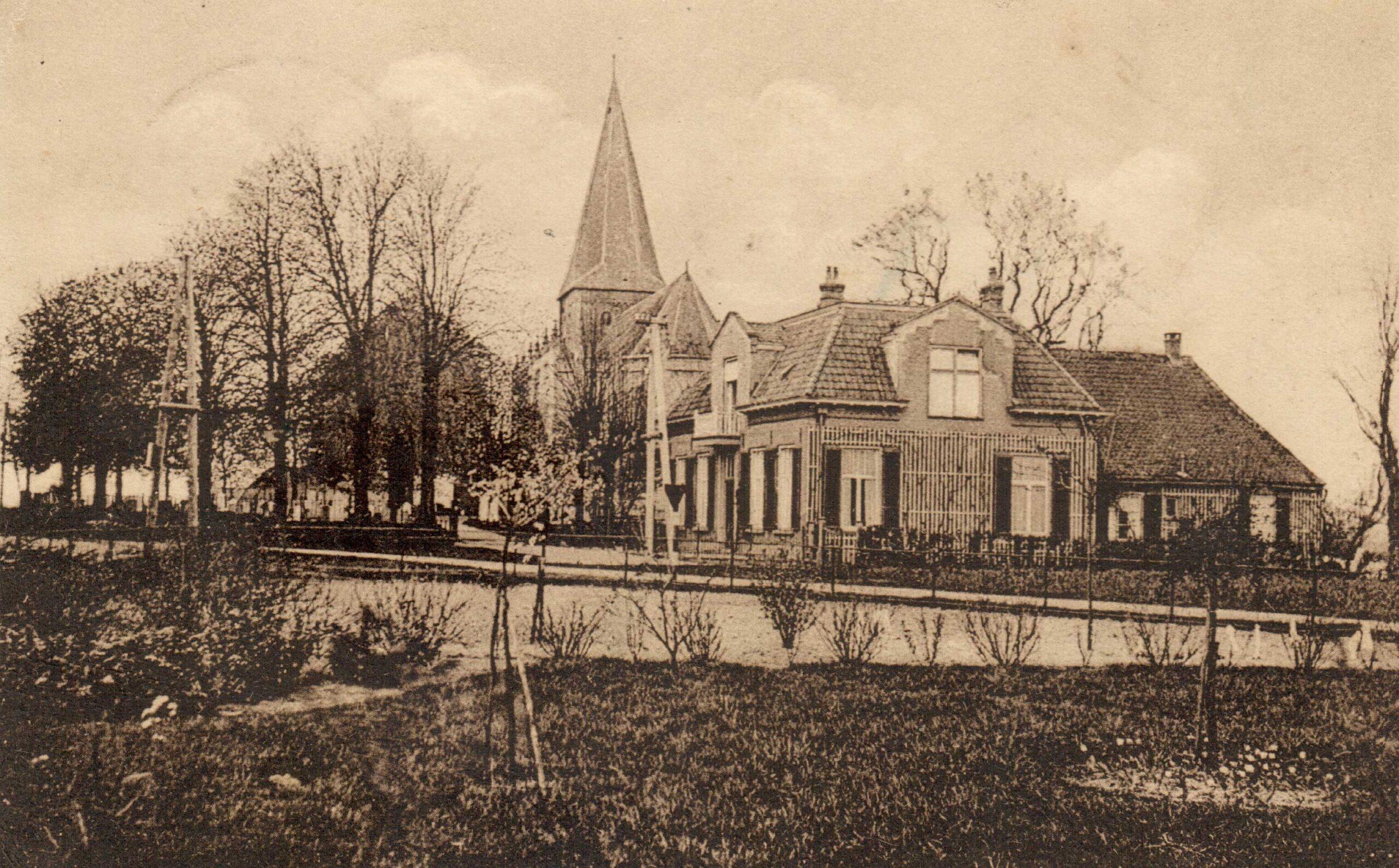 Drempt Kerkstraat 3 Pastorie en St Joriskerk