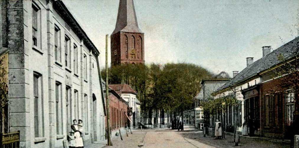 Hengelo Spalstraat en Remigiuskerk
