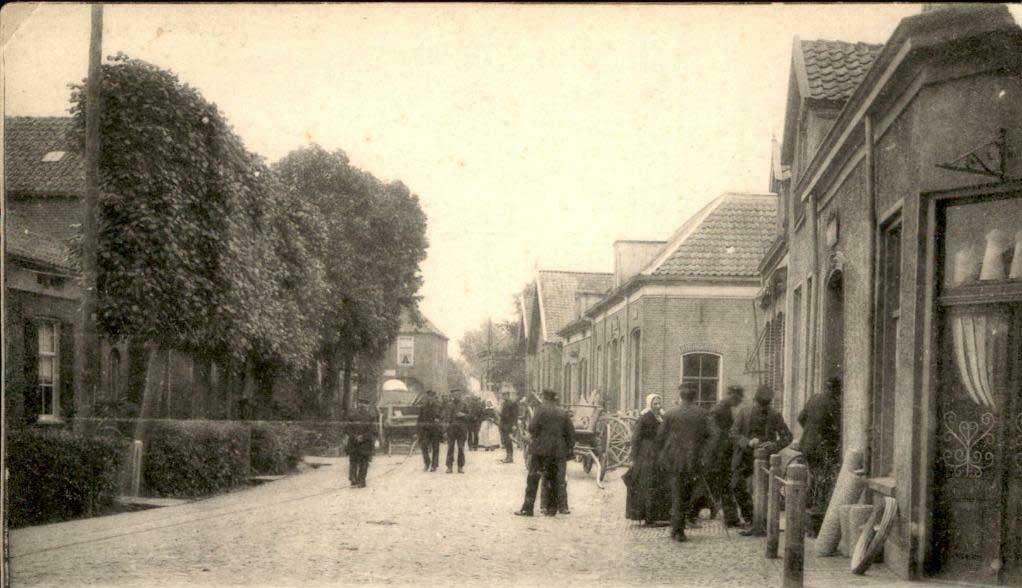 Hengelo Hoogstraat nu Raadhuisstraat