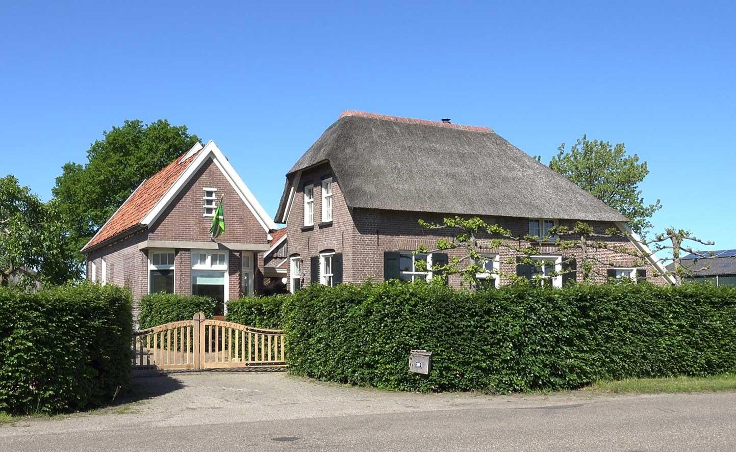 Wichmond Lankhorsterstraat 10 Boerderij en voormalig slagerij