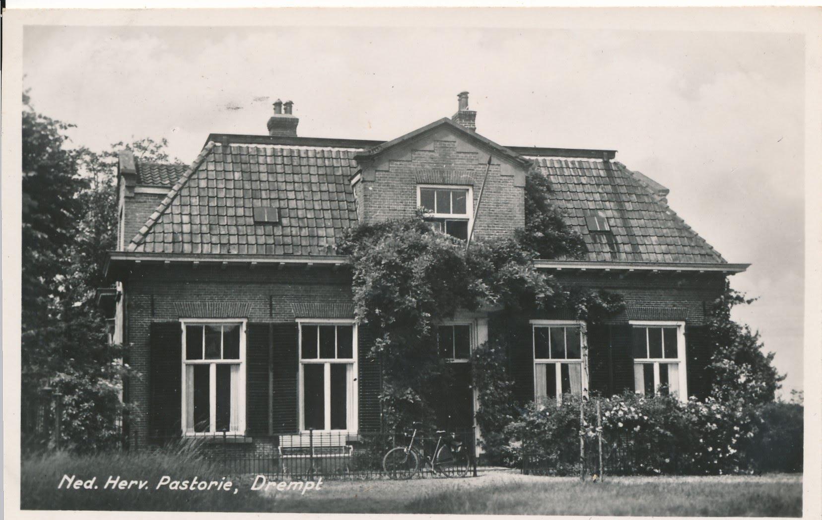 Drempt Kerkstraat 3 Voormalig pastorie