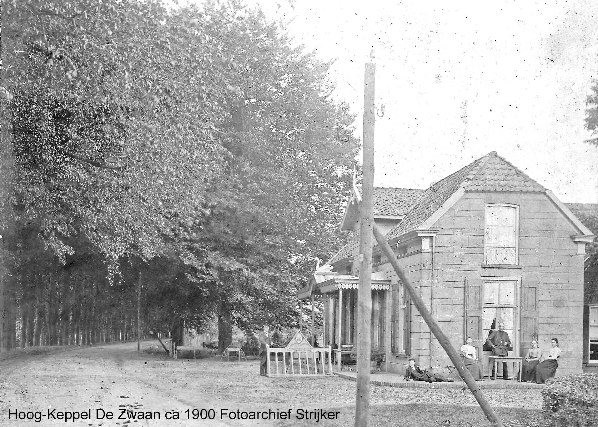 Hoog-Keppel Rijksweg 56 Dwarshuis voorheen uitspanning de Zwaan